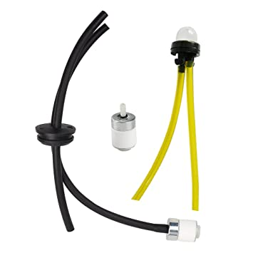 51fhaFWZl8L._SY355_ amazon com panari fuel line assembly primer bulb for toro 51944