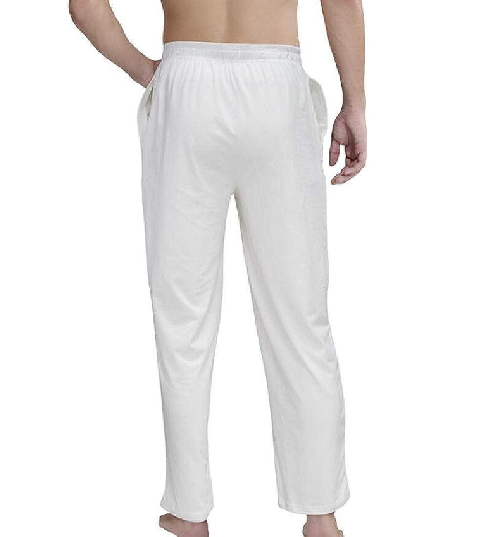 M/&S/&W Men Elastic Waist Drawstring Workout Yoga Sleep Pants