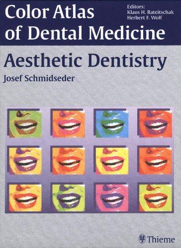 Color Atlas of Dental Medicine Aesthetic Dentistry (1st 2000) [Schmidseder]