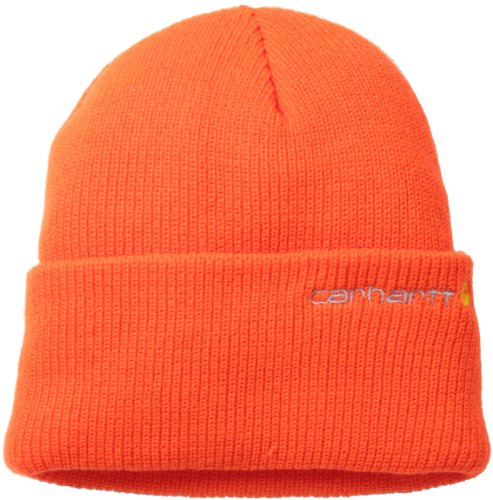Carhartt Mens Hunting Overalls - Carhartt Men's Wetzel Watch Hat,Brite Orange,One Size