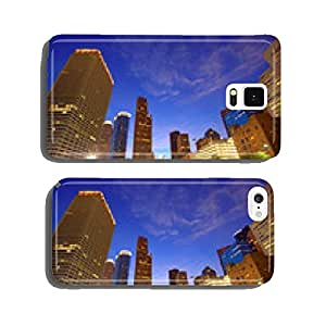 Houston Downtown skyline at sunset Texas US cell phone cover case iPhone6 Plus