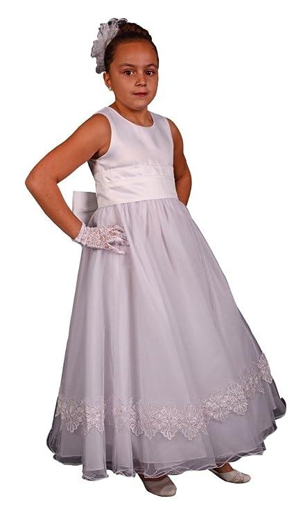Jessidress Vestido de Ceremonia Ninas de Arras Vestido de boda Damitas de Honor Vestido de comunion