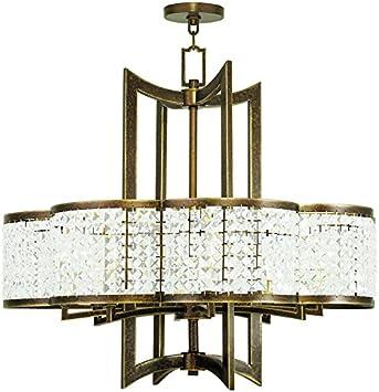 Livex Lighting 50578 64 Gramercy 8 Light Chandelier Hand Painted Palacial Bronze Amazon Com