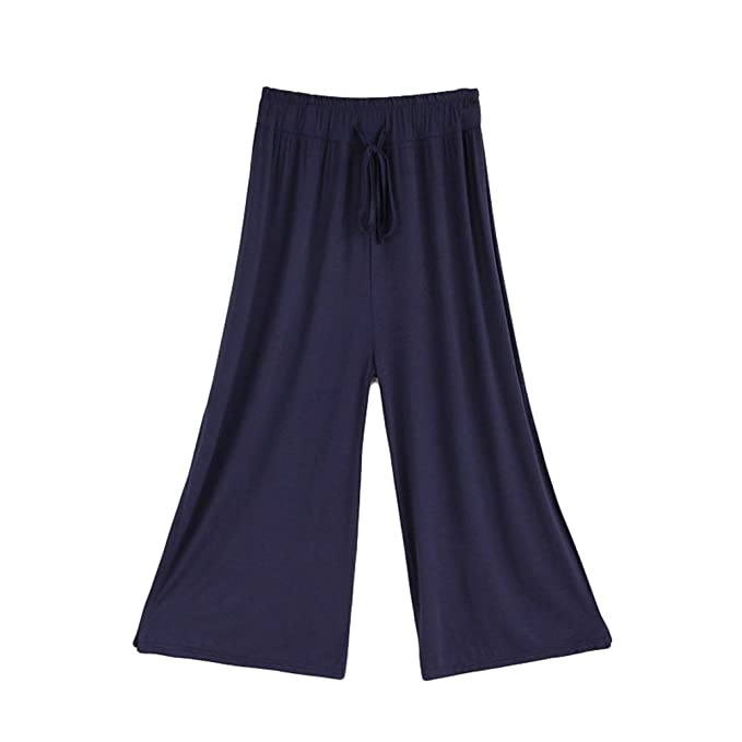 Anguang Ropa de Práctica de Baile Pantalones Anchos de ...