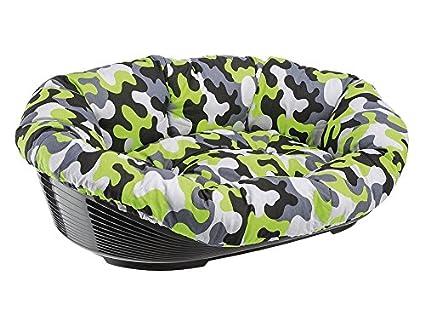 Feplast 70232099 Cama de Plástico para Perros y Gatos con Revestimiento Acolchado Sofa 12,