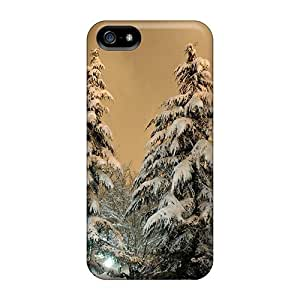 Case Cover Pretty Winter Trees Iphone 5/5s Protective Case