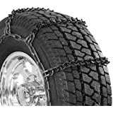 Security Chain Company QG3810 Quik Grip Wide Base V-Bar Type RD Light Truck Tire Traction Chain - Set of 2