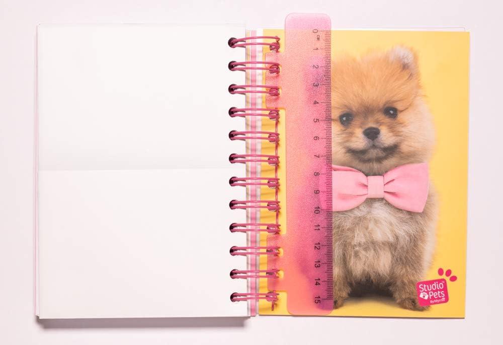 Diario Scuola Giornaliero 2020//2021 10 mesi Studio Pets Dog 11,4x16 cm Erik/®