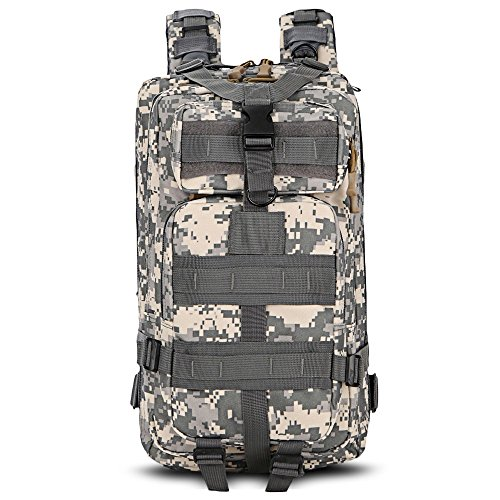 Price comparison product image Free Knight Military Tactical Backpack 3 Day Assault Pack Army Molle Bug Out Bag Trekking Camping Hiking Outdoor (Acu Camouflage)