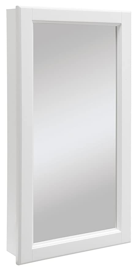 medicine cabinet mirror. Design House 545111 Wyndham White Semi-Gloss Medicine Cabinet Mirror With 1-Door And D