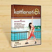 Kettlenetics 4 DVDs in 1 Case with Michelle Khai