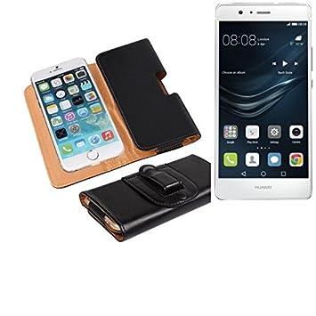 K-S-Trade Bolso de la Correa de Cuero Artificial para el Huawei P9 ...