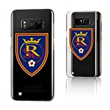 Keyscaper MLS Real Salt Lake Insignia Clear for Galaxy S8, Clear