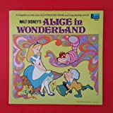 ALICE IN WONDERLAND Walt Disney LP Vinyl VG++ GF Booklet Disneyland 3909