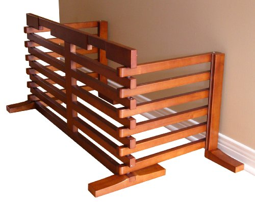 Dog Gate-n-Crate for Small to Medium Size Dogs, Extends to (Merry Pet House)