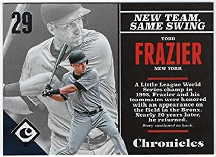 819328ae64a Amazon.com  2017 Panini Chronicles Baseball  58 Todd Frazier New ...