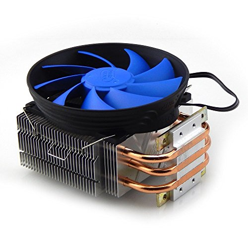 3 Copper Pipe LED Heatsink With Fan For 20W 100W 150W High Power Led Chip by TX