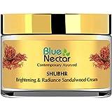 Blue Nectar Ayurvedic Brightening Cream And Lightening Cream - Sandalwood (Women, 50 G)