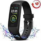 MorePro HRV Fitness Tracker with Heart Rate Blood Oxygen Saturation Monitor SpO2, Waterproof Color...