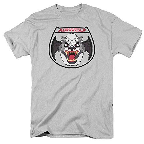Airwolf Squadron Patch Costume Nbc 80S Tv Show T Shirt (80s Tv Shows Costume Ideas)