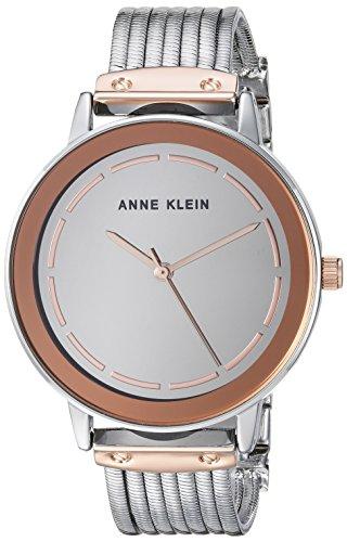 Anne Klein Women's Mirror Dial Chain Bracelet Watch