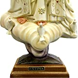 24 Inch Our Lady of Fatima Hand Painted Statue