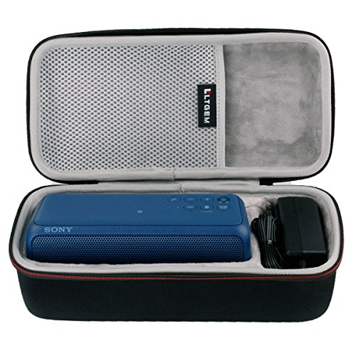 LTGEM EVA Hard Case Travel Carrying Storage Bag for Sony SRS-XB3 Portable Wireless Bluetooth Speaker. Fits USB Cable (Wireless Speakers For Sony)