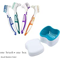 Outtybrave Caja de Almacenamiento de Dientes dentales