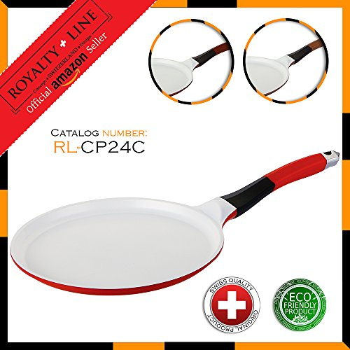 "Royalty Line Crepe Pan 24 cm (9,4"") (Red)"