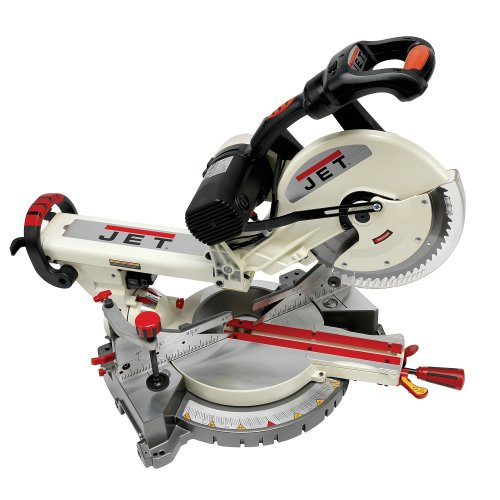 Jet JMS-12SCMS 12-Inch Dual-Bevel Slide Compound Miter Saw (Shaped Jet Stone)