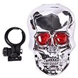 C-Pioneer Skull LED Laser Cycling Mountain Road Lane Bike Bicycle Taillight Safety Warning Review
