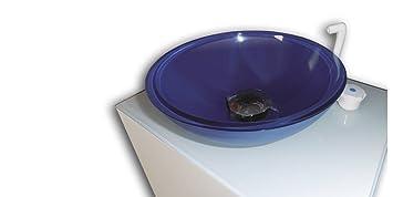 lavamanos porttil de cristal con pedal