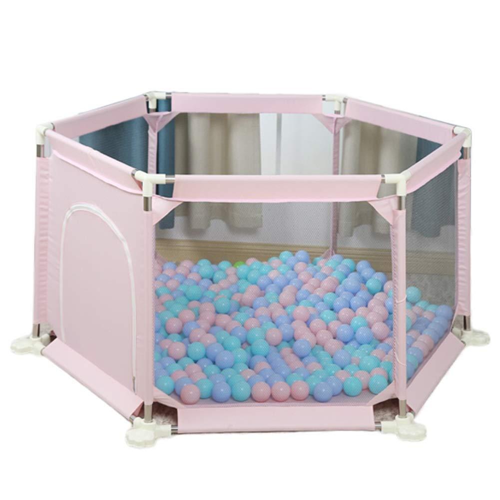 専門店では 赤ちゃんのベビーサークル幼児幼児フェンス家庭用粉砕抵抗性おもちゃハウス子供の安全遊び場付きクロールマット、高73 cm (色 (色 : ピンク) ピンク B07QLVVBQ5 ピンク) B07QLVVBQ5, バッグ財布革小物ZeroGravity:d26dafb7 --- a0267596.xsph.ru