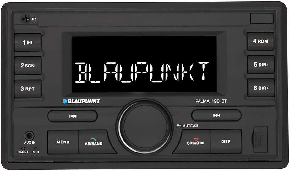 Blaupunkt 2002018000007 Palma 190 BT-Autorradio 2DIN con Bluetooth