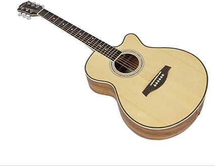 Boll-ATur Guitarra acústica for principiantes de 40 pulgadas ...