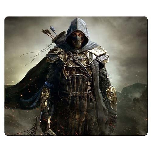 Waterproof Scroll Mouse - 26x21cm 10x8inch Game Mouse Mats cloth / rubber water resistant Durable The Elder Scrolls