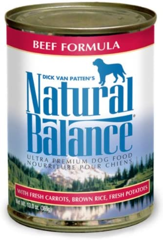 Natural Balance Pet Foods Beef Rice Dog CAN