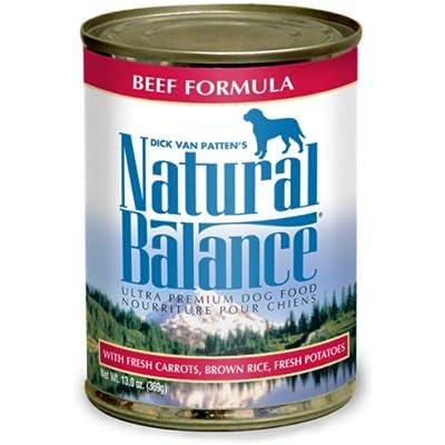 Natural Balance Pet Foods Beef/Rice Dog CAN