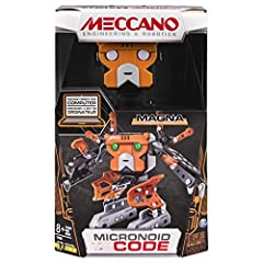 Create your own robot friend with the Micronoid Magna! This robotic set from Meccano, formerly Erector, is designed for novices aged 8+, who are interested in building and programing! Have fun building, then change gears and put your computer...