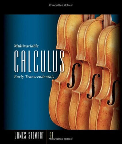 Multivariable Calculus: Early Transcendentals (Available 2010 Titles Enhanced Web Assign)