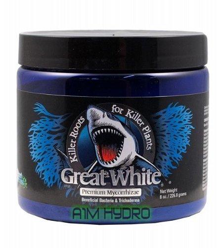 Plant Success Great White Mycorrhizal 8 Ounce 8Oz Premium Additive Hydroponics