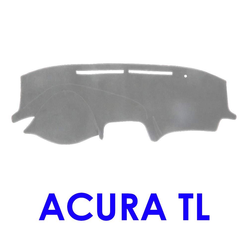 Dashboard Cover Acura TL Polyester, Black DashMat Ltd Ed