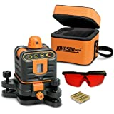 Johnson Level and Tool 40-6502 Manual-Leveling Rotary Laser Level