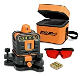 Johnson Level and Tool 40-6502 Manual-Leveling Rotary Laser Level