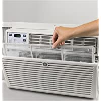 GE AEM24DX 27 Window Air Conditioner with 24000 Cooling BTU, Energy Star Qualified in Light Cool Gray