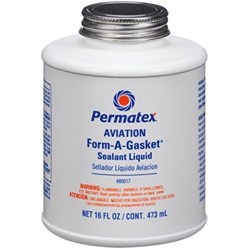 Permatex 80017 Aviation Form-A-Gasket No. 3 Sealant, 16 oz. by Permatex - Aviation Gasket Sealant