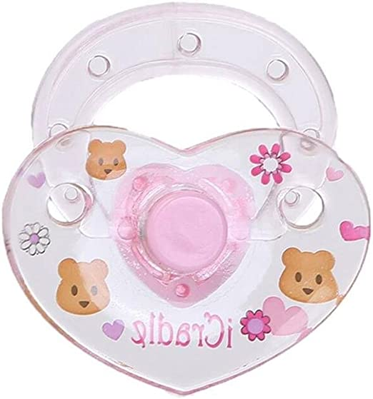 Baby Girl Doll Magnetic Pacifier Dummy Feeding Bottle Reborn Doll Accessories