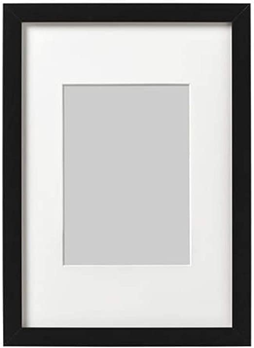White Black Frames for Pictures and Posters Great Quality Photo Print Ribba