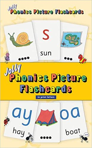 Amazon.com: Jolly Phonics Picture Flashcards (in Print Letters ...