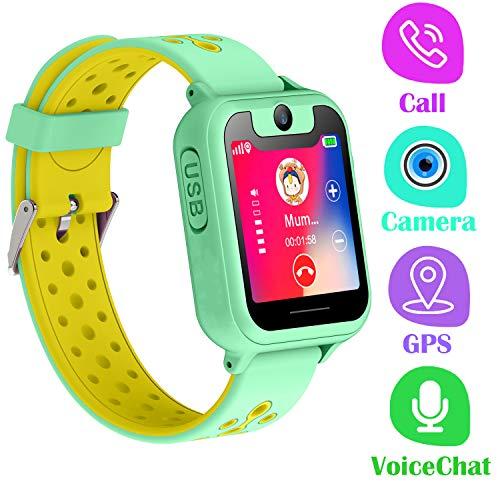 PTHTECHUS Telefono Reloj Inteligente GPS